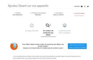 Comment choisir qwant junior en moteur par defaut