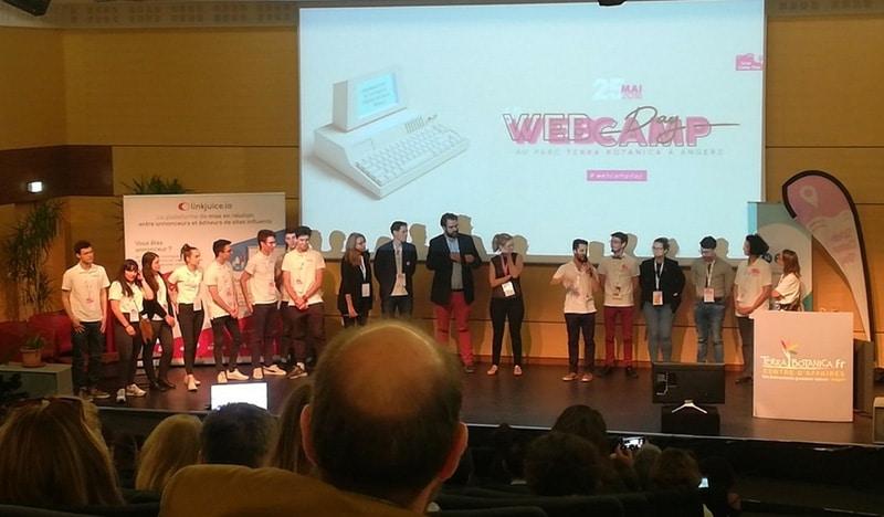 organisateurs du webcampday 2018 à Angers